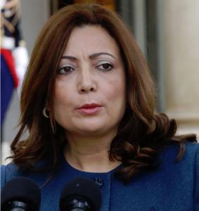 Wided Bouchamaoui, présidente de l'UTICA.