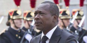 Le président Patrice Talon à Paris, le 26 avril 2016