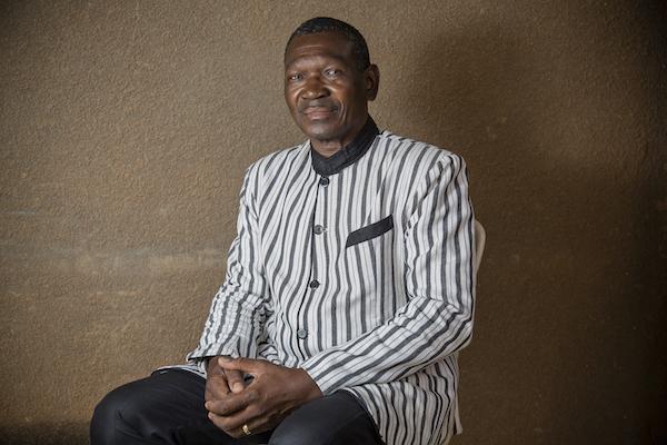 Achille Tapsoba, président par intérim du Congrès pour la Démocratie et le Progrès (CDP).