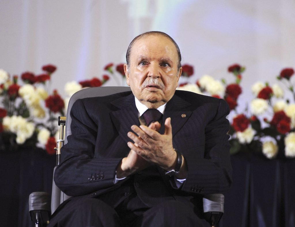 Le président algérien Abdelaziz Bouteflika.