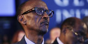 Paul Kagame, en septembre 2014 à New York, aux États-Unis.