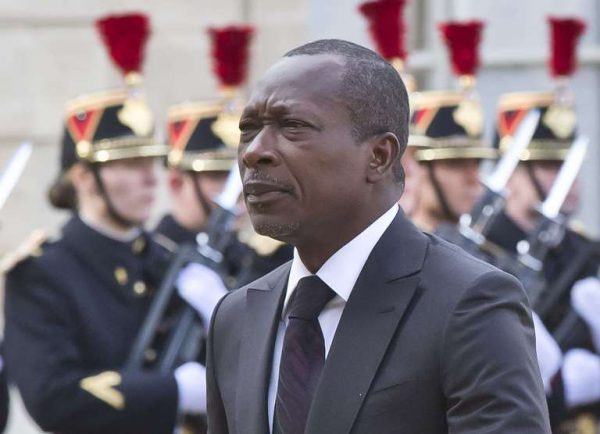 Le président béninois Patrice Talon reçu à l'Elysée le 26 avril 2016.