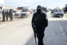 Des membres de la brigade anti-terrorisme, dans la banlieue de Tunis (illustration)