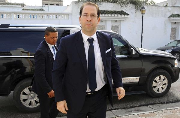Le chef du gouvernement tunisien, Youssef Chahed, le 6 décembre 2016.