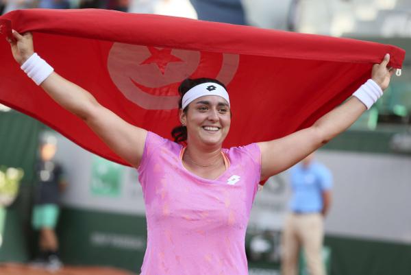 Ons Jabeur mercredi 30 mai 2017, à Roland Garros, à Paris, en France.