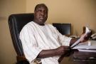 Zéphirin Diabré, président de l'UPC à Ouagadougou le 19 avril.