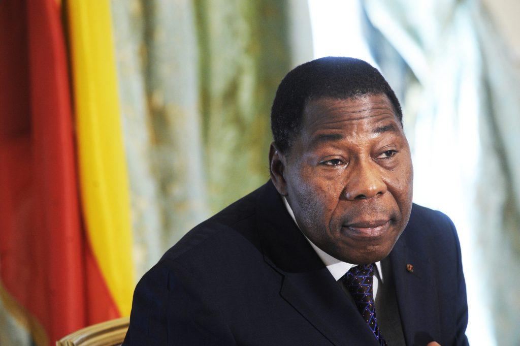 L'ancien président béninois Thomas Boni Yayi, le 30 mai 2012 à Paris.