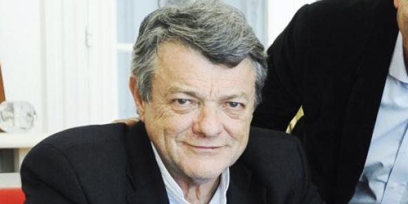 Jean-Louis Borloo (France), ancien maire de Valenciennes, ancien minitre, il vient de lancer Energie pour l'Afrique, une fondation destinée à trouver des fonds et créer des synergies pour l'électrification de l'Afrique, à Paris, le 27.02.2015.