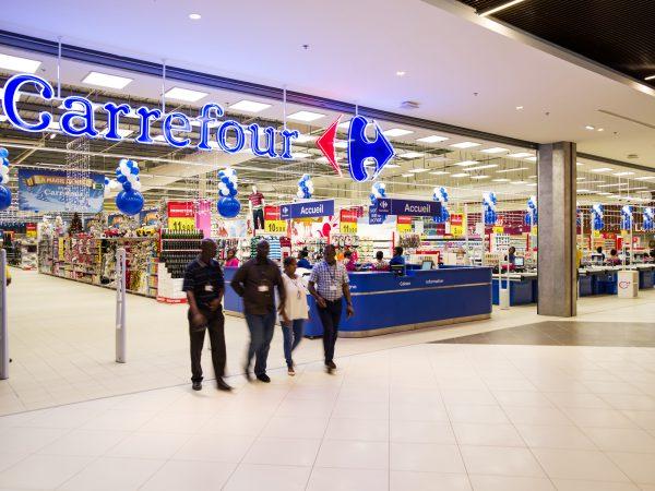 Le Carrefour d'Abidjan, au sein du centre commercial PlaYce Marcory, a embauché 500salariés.
