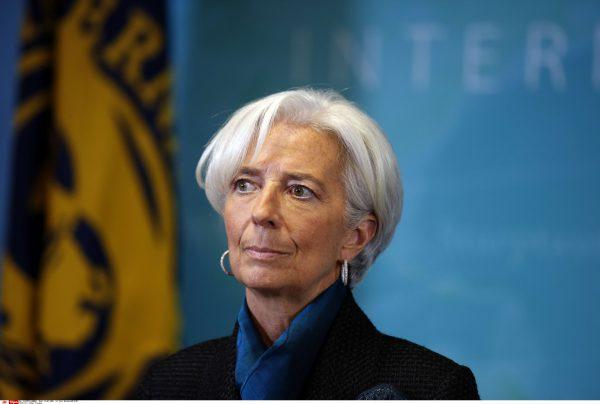 Christine Lagarde, directrice générale du FMI, en janvier 2015.