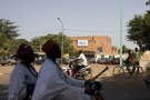 Avenue de la Nation, à Ouagadougou, Burkina Faso, en octobre 2012.