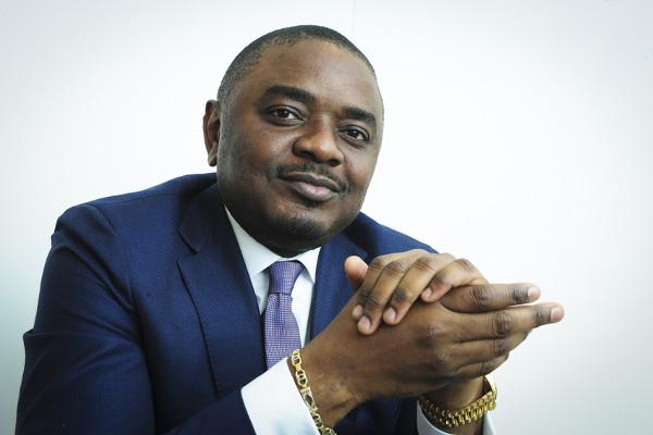 Germain Kambinga, alors ministre congolais de l'Industrie, le 28 septembre 2016 à Paris.