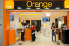 Boutique Orange dans le centre commercial PlaYce-Marcory (CFAO), à Abidjan.