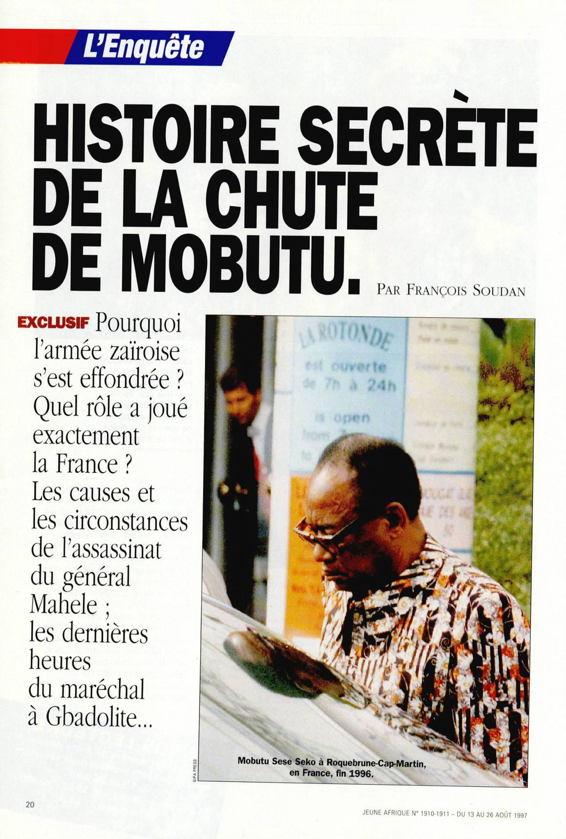 Filme Seu Nome É Jonas with rdc : l'histoire secrète de la chute de mobutu – jeuneafrique