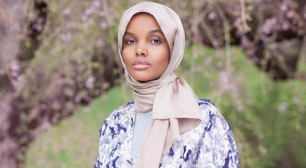 Somali-Américaine Halima Aden.