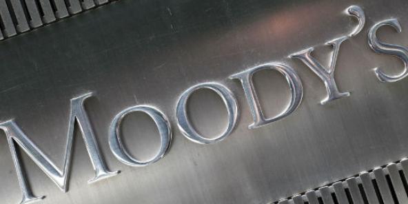 L'agence de notation financière Moody's, à New York.