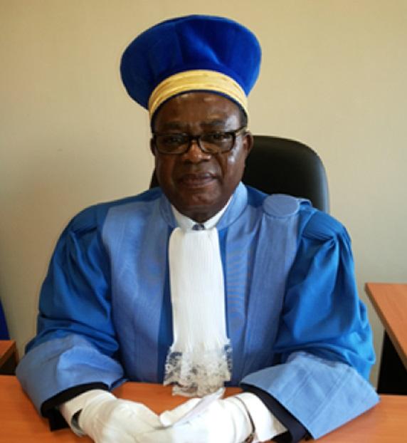 Felix Vunduawe, juge à la cour constitutionnelle