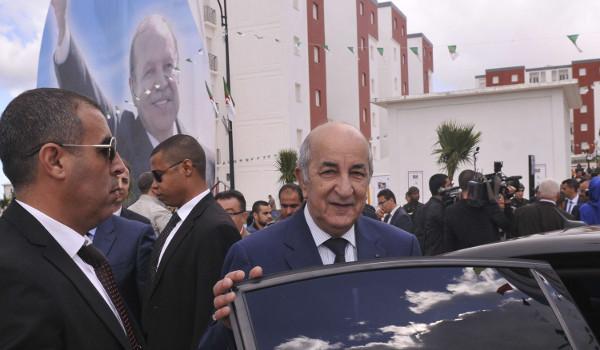 L'ex-Premier ministre algérien, Abdelmadjid Tebboune, le 3 avril 2017 à Alger.