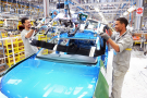 La chaîne de production de Tanger. Le Maroc accueille chaque année une dizaine de nouvelles usines.