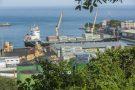 Port de San Pedro, Côte d'Ivoire. Mars 2016.