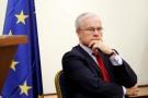Bernard Émié à l'ambassade de France, à Alger,en 2015.