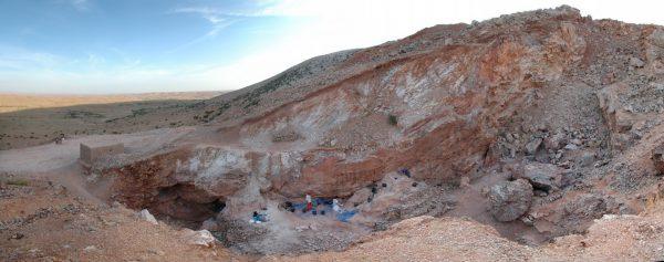 Le site archéologique de Jebel Irhoud au Maroc (illustration)