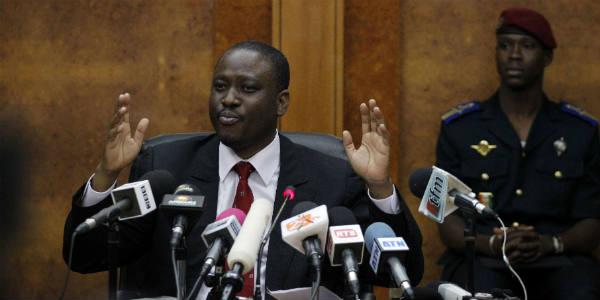 Guillaume Soro à Dakar, le 17 février 2011.
