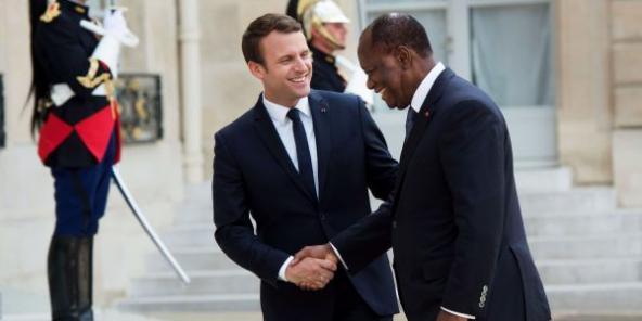 """Résultat de recherche d'images pour """"alassane ouattara macron"""""""