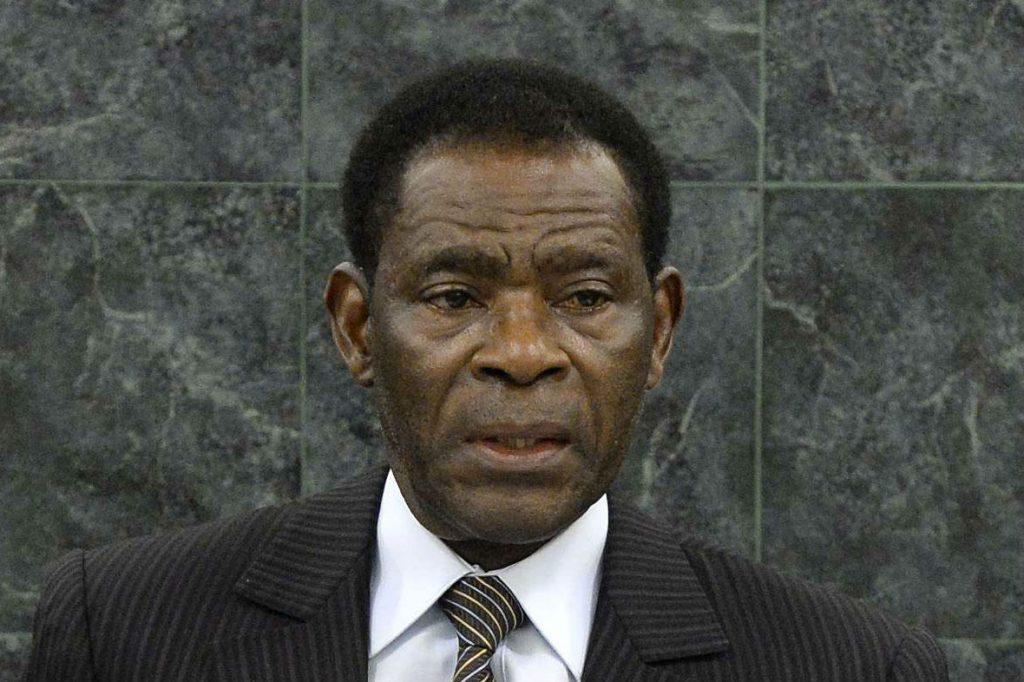 Le président de la Guinée équatoriale, Teodoro Obiang Nguema Mbasogo au siège de l'ONU, à New York, le 26 septembre 2013.
