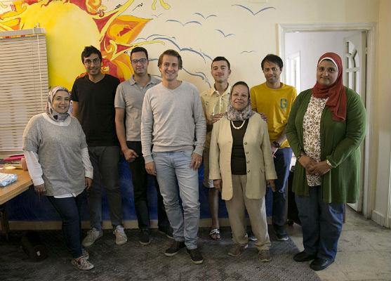 Une partie de l'équipe  Bassita Clickfunding.