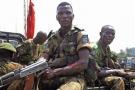 Des soldats des FARDC, à Beni, dans la province du Nord-Kivu, dans l'est de la RDC, en janvier 2014.