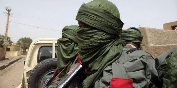 Des combattants maliens à Gao en 2015.