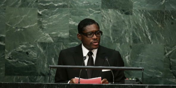 Teodorín Obiang, le 30 septembre 2015 au siège des Nations Unies (image d'illustration).