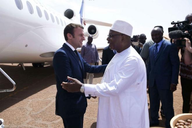 "Mali : Ibrahim Boubacar Keïta appelle à ne pas "" mordre la main "" tendue de la France"
