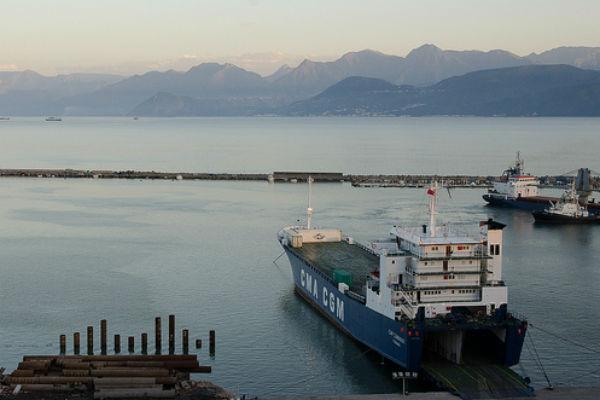 Le port de Béjaia, en 2013.