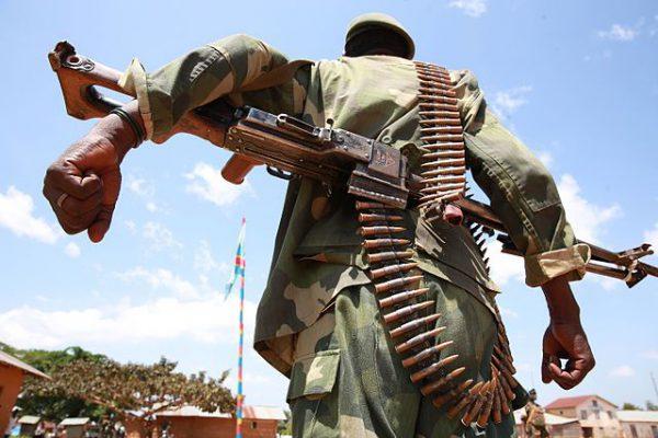 Un militaire des Forces armées de la RDC (FARDC).