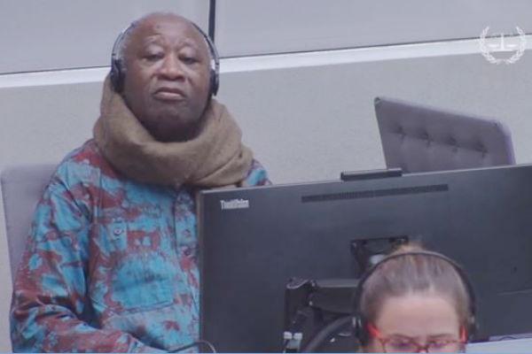 Laurent Gbagbo, lors de l'audience du 19 juillet 2017 devant la Cour pénale internationale.