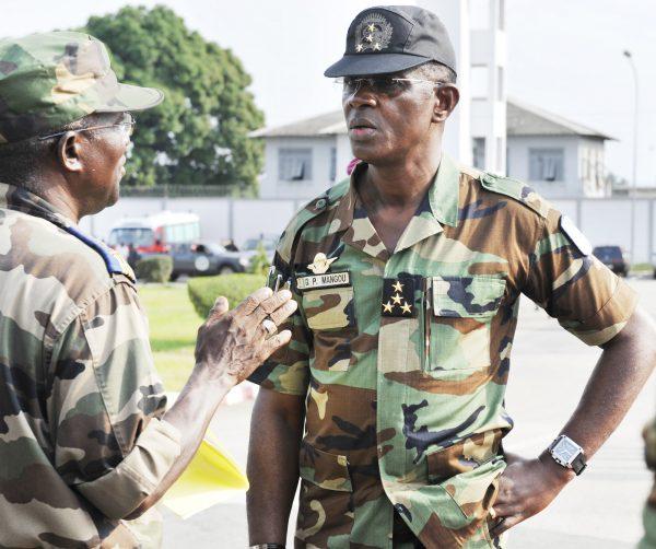 Le général Mangou Phillipe du 02 fevrier 2011