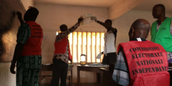 Lors d'une séance de dépouillement des votes, à Lomé, au Togo, en 2015 (photo d'illustration).