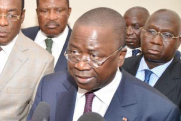 Jeannot Ahoussou-Kouadio, le 22 mai 2014.
