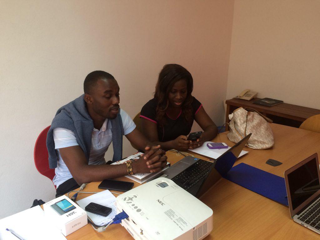 Photo Trustin equipe mission Côte d'Ivoire (Herbert à gauche)