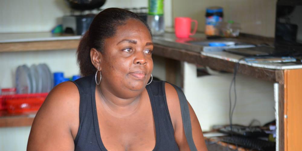 Nora Isabel Castillo, une des fondatrices du mouvement de protestation afro-colombien de Buenaventura.