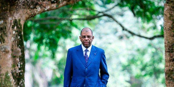 Alexandre Barro Chambrier, le 16 juillet 2015 à Libreville.