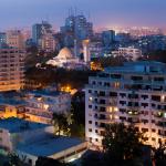 Le centre ville de Dakar au Sénégal.