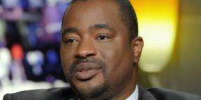 Le ministre d'État conseiller personnel d'Alpha Condé, Tibou Kamara.