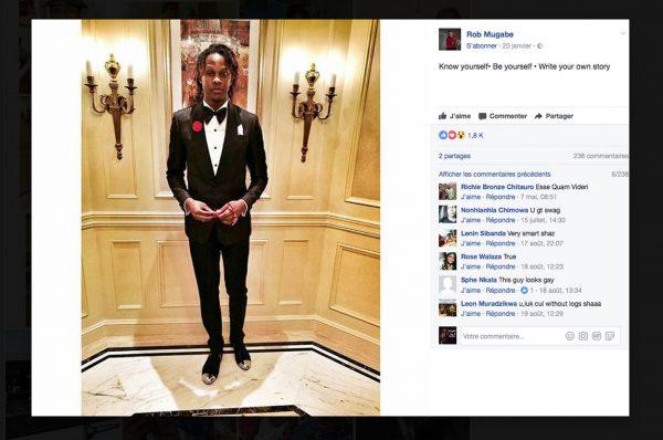 Sur les réseaux sociaux, les deux fils du président Mugabe affichent leur train de vie fastueux.