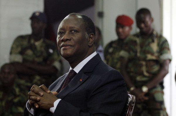 Le président ivoirien, Alassane Ouattara.