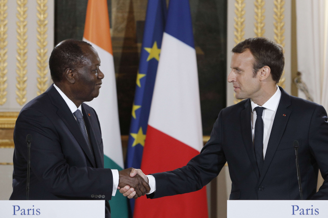 Côte d'Ivoire-France : les sujets cruciaux au coeur de la rencontre Ouattara-Macron