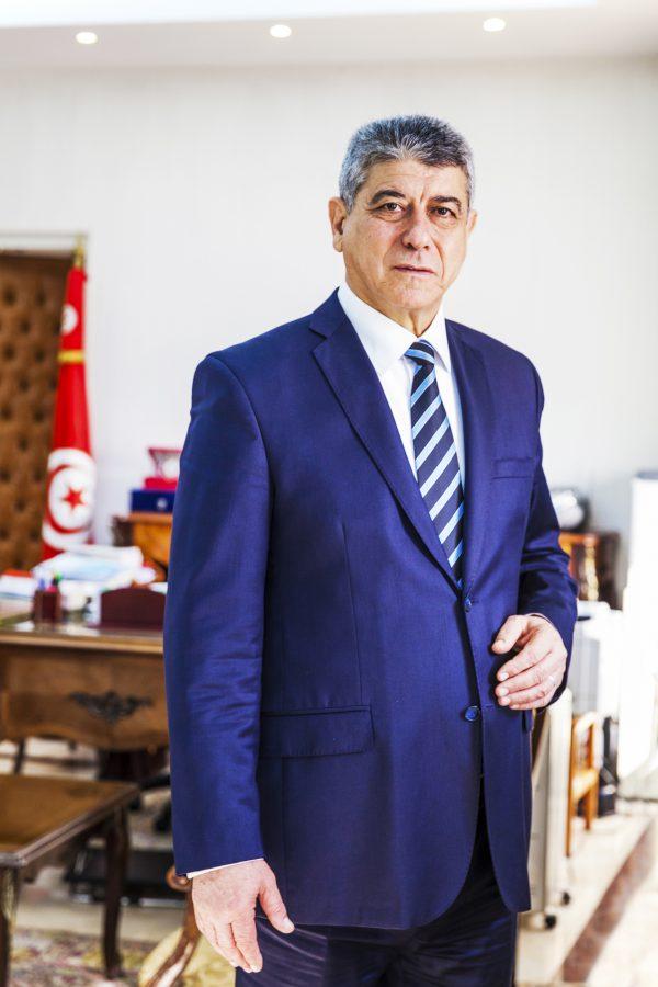 Ghazi Jeribi, ministre de la justice.