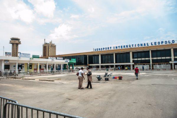 Aéroport International Leopold Sedar Senghor, le 3 septembre 2013.